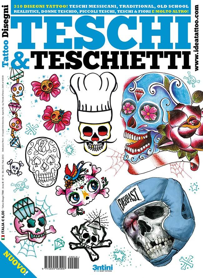 Tattoo Disegni 14 , Teschi \u0026 Teschietti