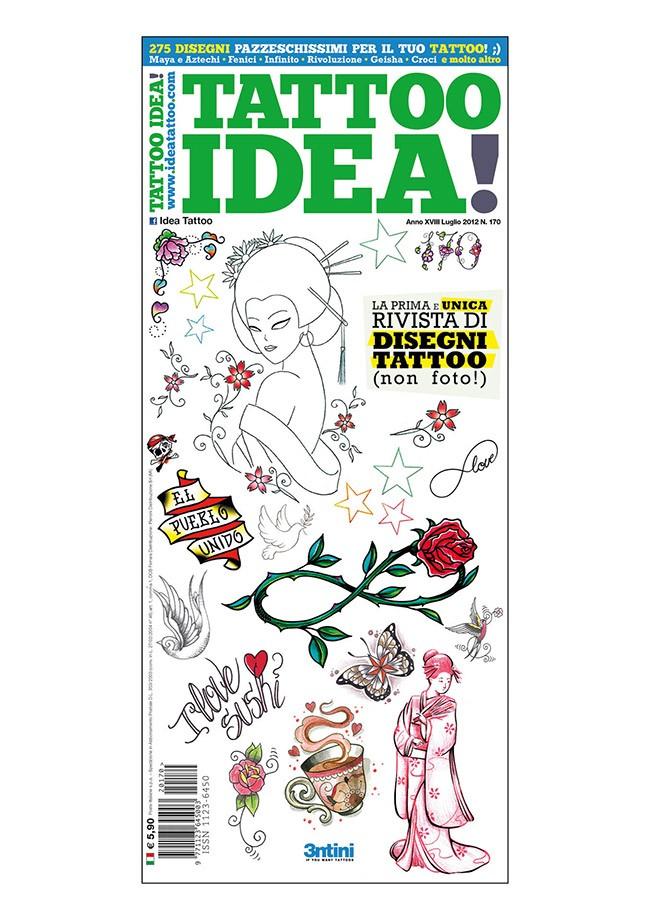 Idea Tattoo 170 Luglio 2012