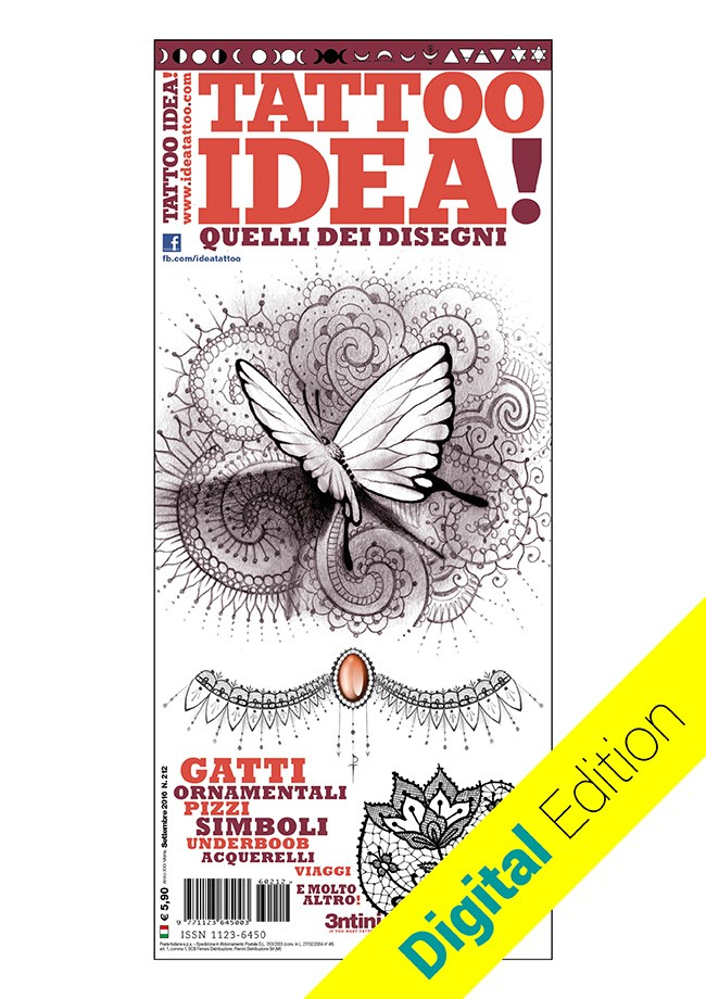 Idea Tattoo 212 Settembre/Ottobre 2016 DIGITAL EDITION