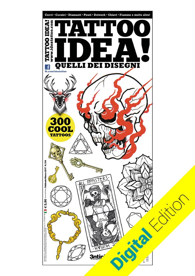 Idea Tattoo 214 Febbraio/Marzo 2017 [digitale]