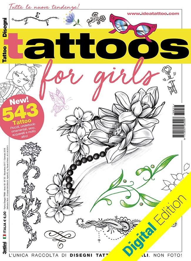Tattoo for girls [digital edition]
