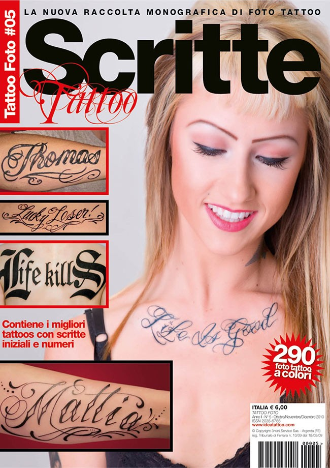 Tattoo Foto 5: Scritte Tattoo