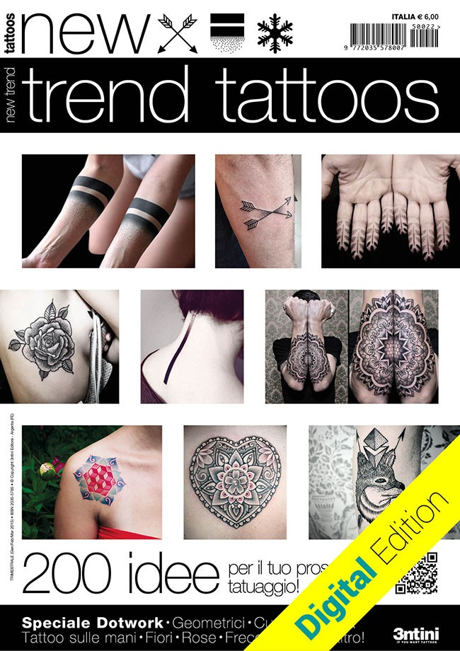 Tattoo trends: dotwork