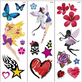 Fairy Transfer Tattoos