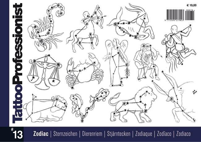 Tattoo Professionist 13 - Zodiac
