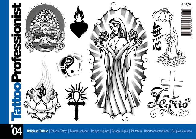 Tattoo Professionist 4 - Religious Tattoos