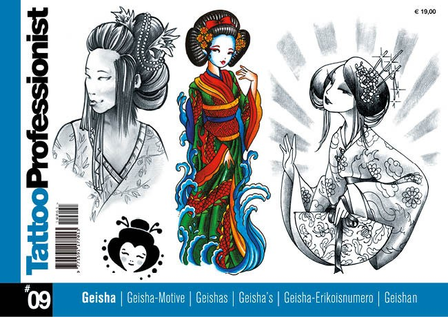 Tattoo Professionist 9 - Geisha