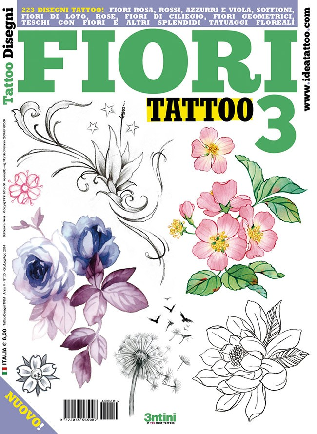 Fiore Di Loto Tattoo Disegno.Flower Tattoos 3