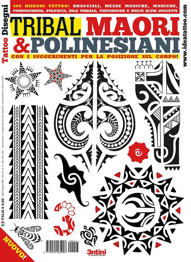 Tattoo Flash Maori: Tribal: Maori & Polynesian
