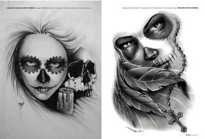 50 La Catrina Tattoo Designs For Men Mexican Ink Ideas 1