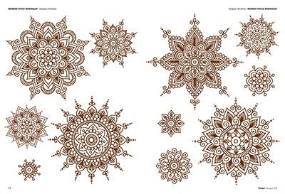 Mandalas Ornamental Tattoos