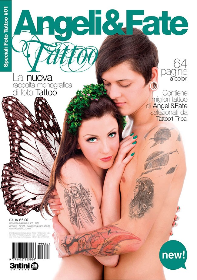 Special Tattoo Photos: Angels And Fairies