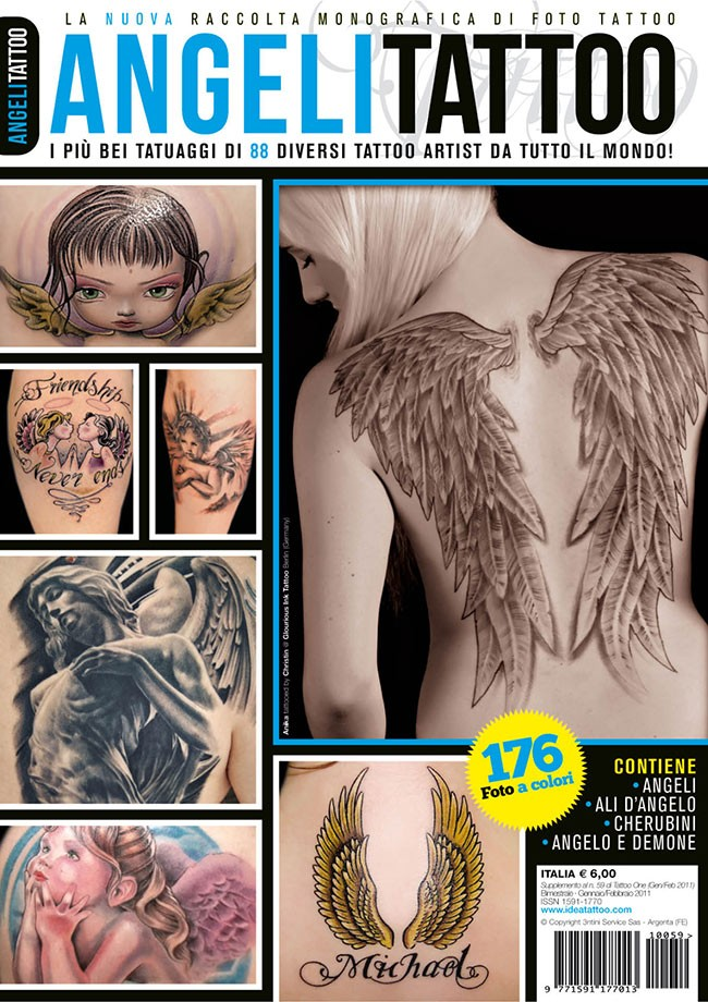 Tattoo Foto 6: Angel Tattoos