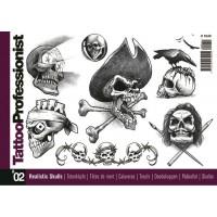 Tattoo Professionist 2 - Realistic Skulls