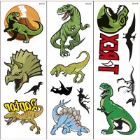 Dinosaur Transfer Tattoos 1