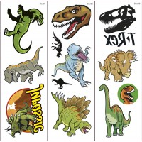 Dinosaur Transfer Tattoos 2