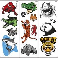 Wild Animals Transfer Tattoos