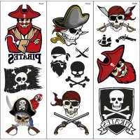 Pirate Transfer Tattoos