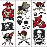 Pirate Transfer Tattoos