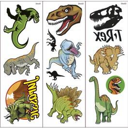 Dinosaurier-Klebetattoos 2