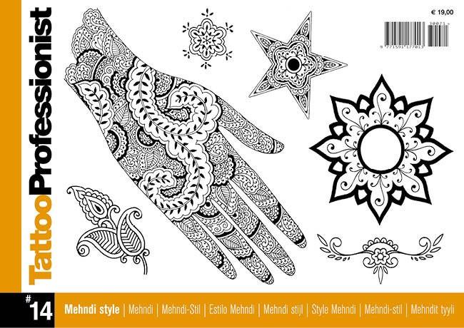 Tattoo Professionist 14 - Mehndi-stil