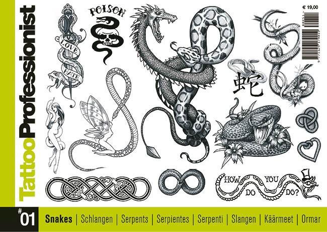 Tattoo Professionist 1 - Schlangen