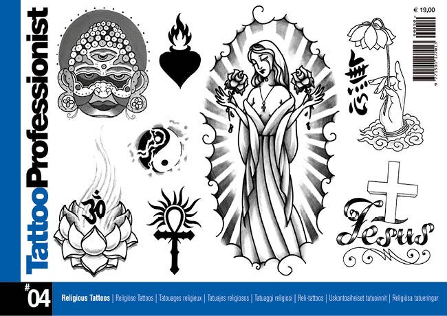 Tattoo Professionist 4 - Religiöse Tattoos