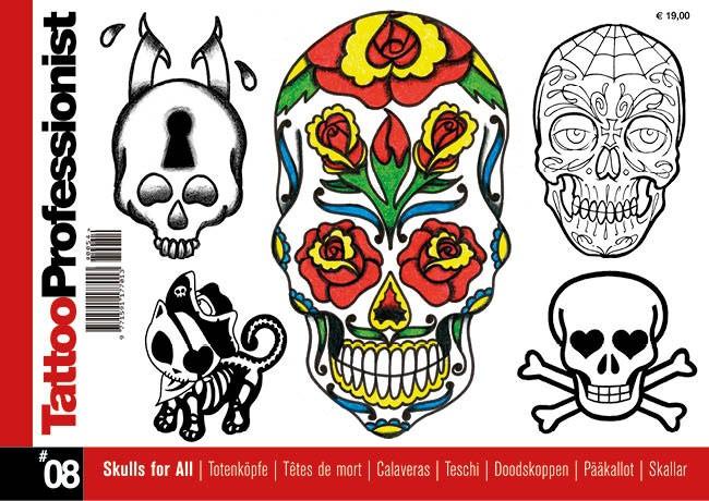 Tattoo Professionist 8 - Totenköpfe