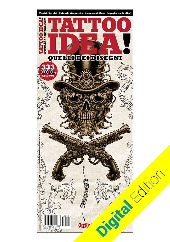 Idea Tattoo 218 Januar/Februar/März [digital edition]