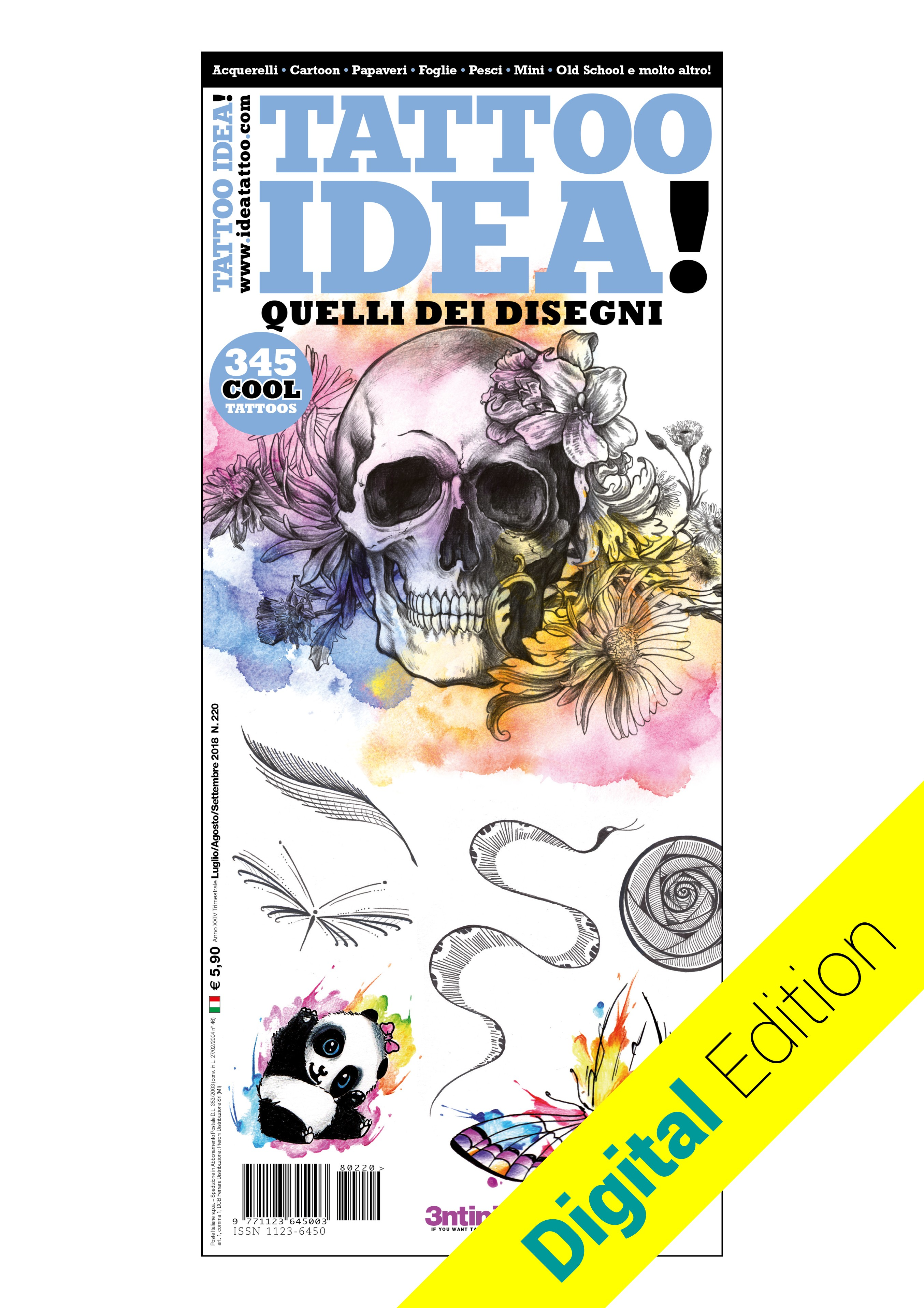 Idea Tattoo 220 Juli/August/September 2018 [digital edition]