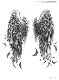 Motive mit flügeln engel tattoo Engel Tattoo