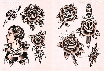 tattoo rosen. Black Bedroom Furniture Sets. Home Design Ideas