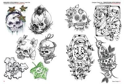 Totenköpfe Und Mini-totenköpfe