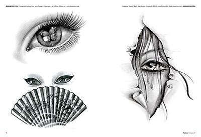 13 Inspirierende Augen Tattoo Vorlagen Desired De 3