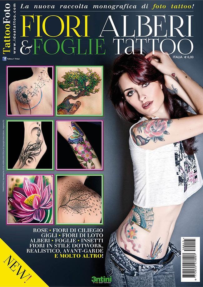 Tattoo Foto 15: Blumen-, Baum- Und Blätter-tattoos