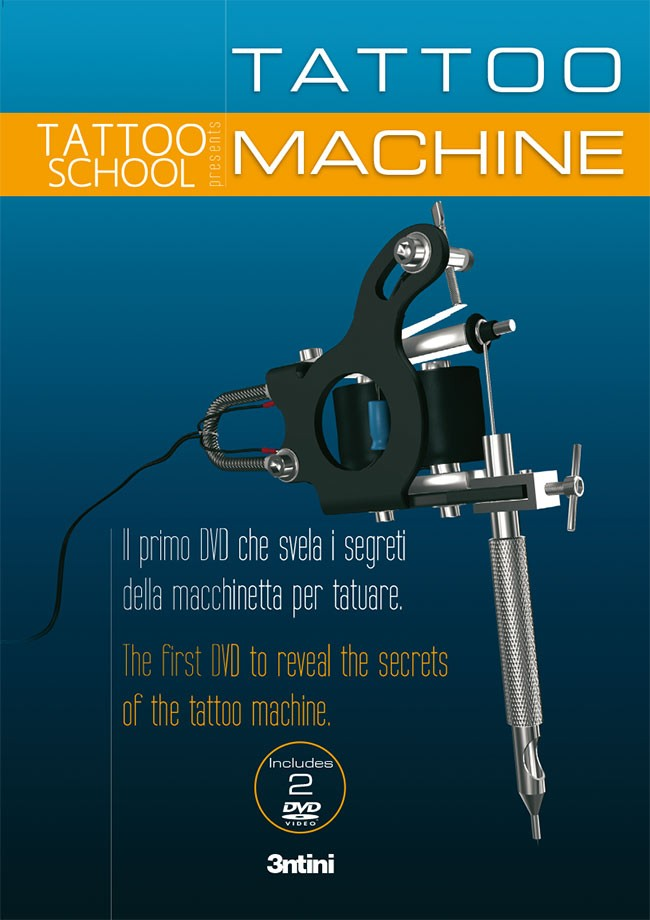 Tattoo School - Tattoo Machine Dvd (italienisch/englisch)