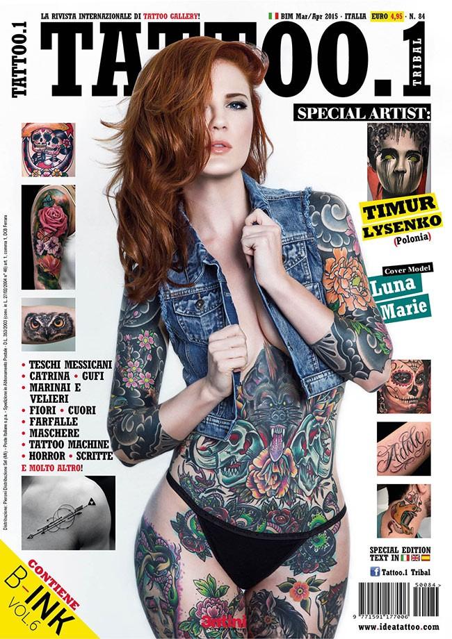 Tattoo.1 Tribal 84  Mär/Apr 2015
