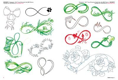 Tattoo liebe zeichen unendliche Unendlichkeitszeichen tattoo