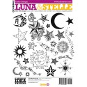 Mond & Sterne Tattoo