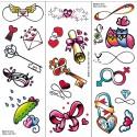 Klebe-tattoos: Unendlichkeit Und Liebe