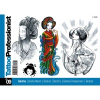 Tattoo Professionist 9 - Geisha-motive