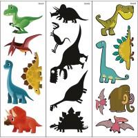 Dinosaurier-Klebetattoos 3