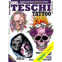 200 Tattoo-Totenköpfe