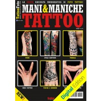 Hand-Tattoos und Sleeves