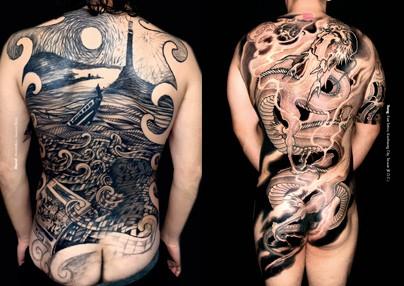 Tattoo foto 11 espalda y manga - Mangas de tattoo ...