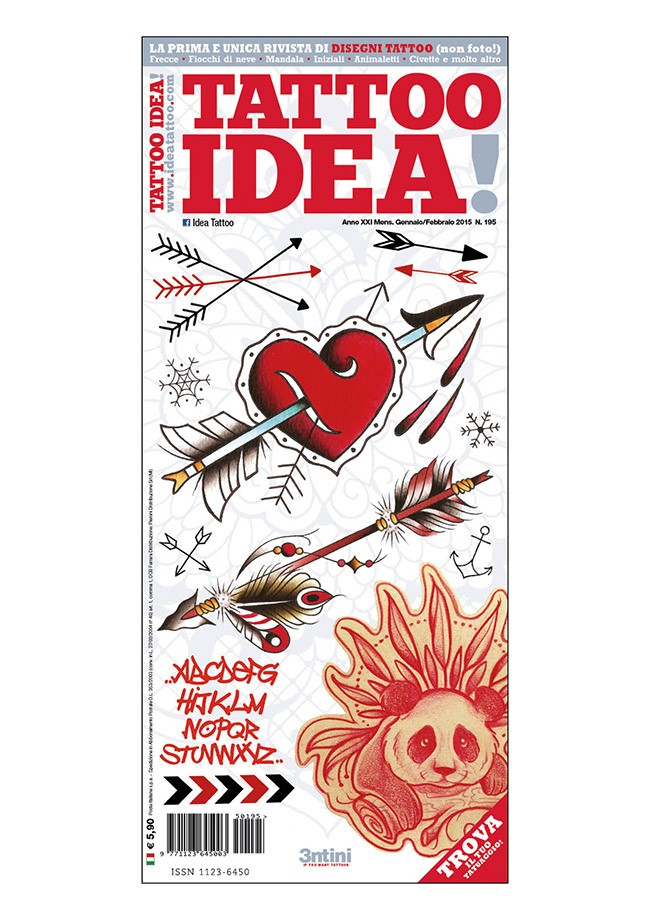 Idea Tattoo 195 Ene/Feb 2015