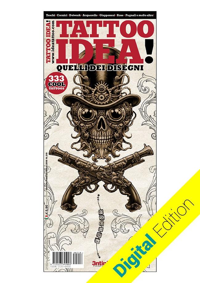 Idea Tattoo 218 Enero/Febrero/Marzo  [digital edition]