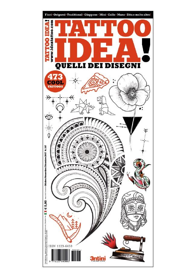 Idea Tattoo 217 Octubre/Noviembre/Diciembre 2017