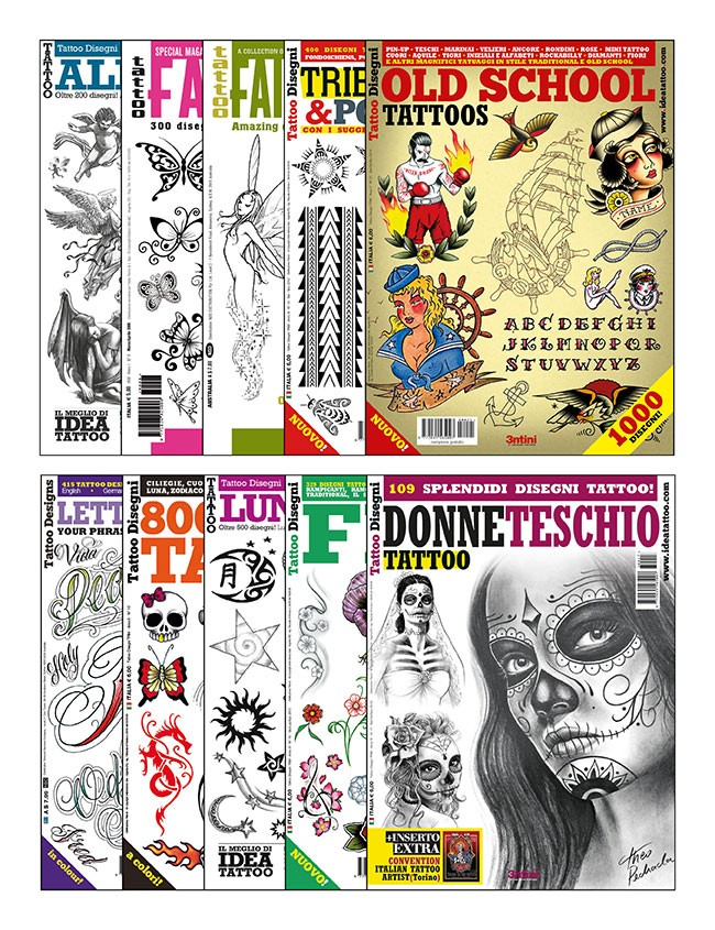 10 Tattoo Flash