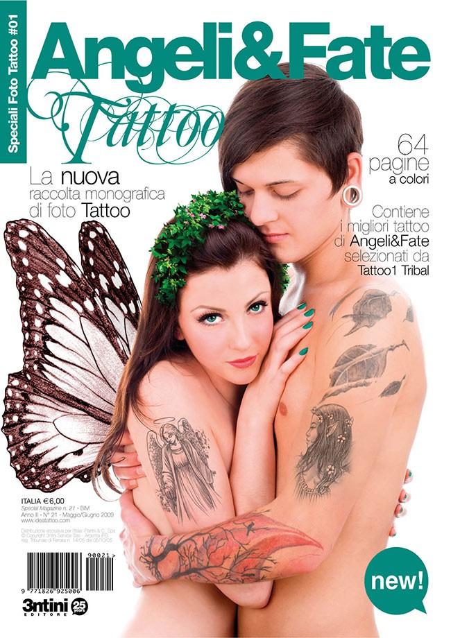 Special Tattoo Photos: Ángeles Y Hadas